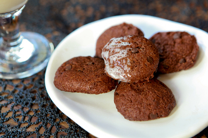 Double Chocolate Cookies06