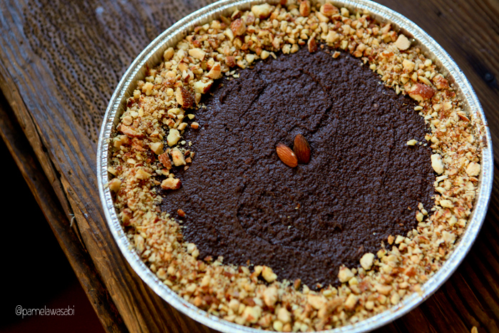 Raw Peanut Butter Cup Pie01