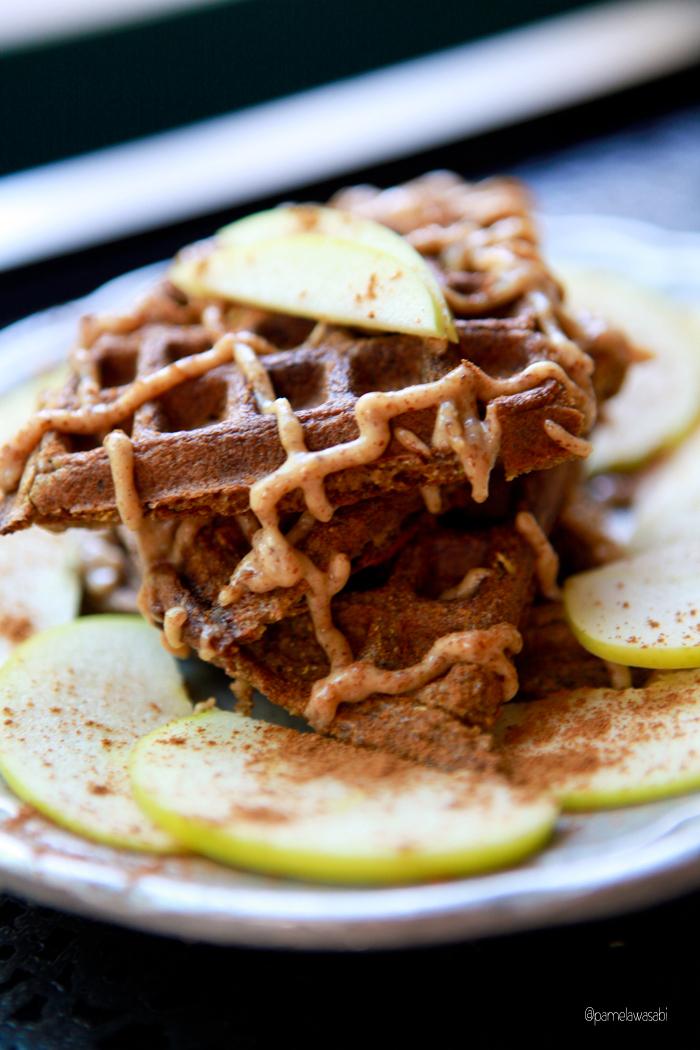 Zucchini Waffles_Vegan_Recipe02
