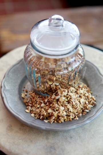 Dry Roasted GranolaVegan Recipe01