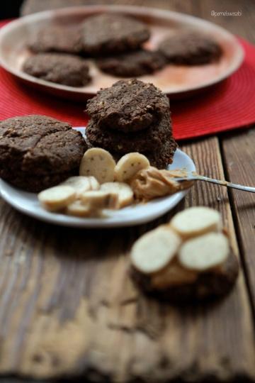 No-Flour Choco Peanut Butter CookiesVegan Recipe02