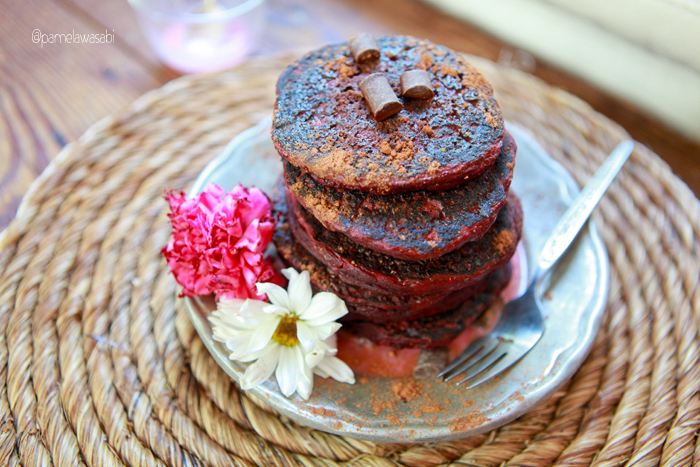 Beet Buckwheat PancakesVegan Recipe23