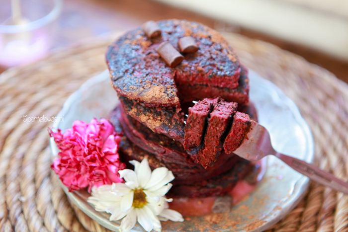 Beet Buckwheat PancakesVegan Recipe31