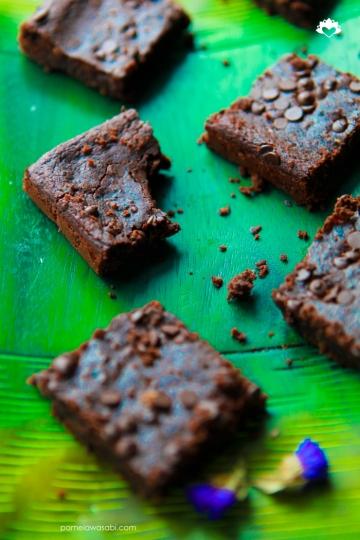 Fudge Black Bean Brownies #vegan #glutenfree03