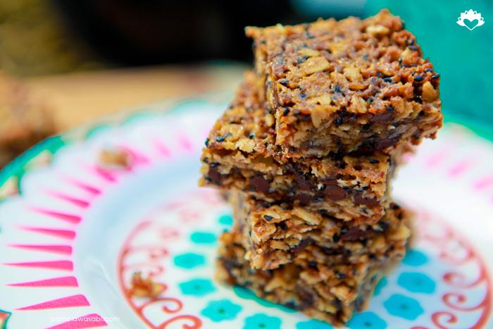 Nut-Free Granola Squares #vegan #glutenfree #pamelawasabi_01