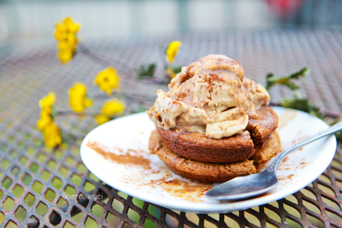 Peanut Butter Ice Cream & Tahini Muffin TopVegan Recipe00