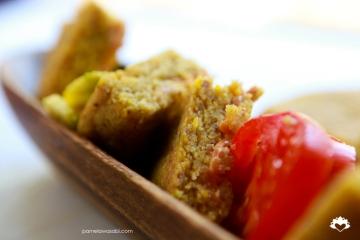 Vegan Corn Arepas #vegan #glutenfree #pamelawasabi00