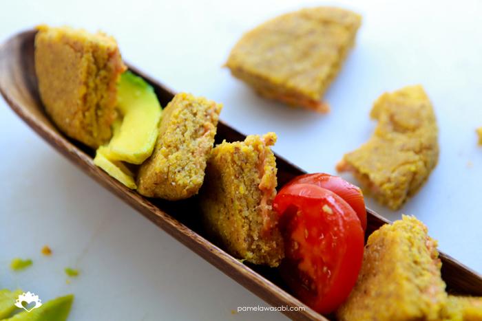 Vegan Corn Arepas #vegan #glutenfree #pamelawasabi01