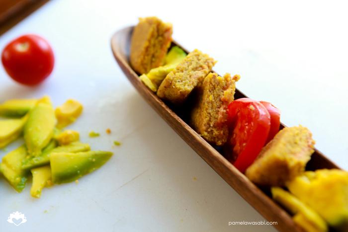 Vegan Corn Arepas #vegan #glutenfree #pamelawasabi03