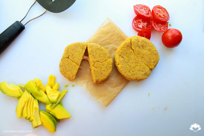 Vegan Corn Arepas #vegan #glutenfree #pamelawasabi05