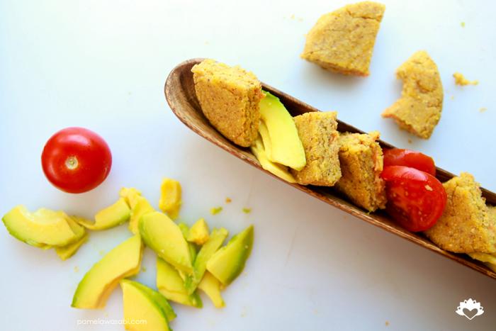 Vegan Corn Arepas #vegan #glutenfree #pamelawasabi08