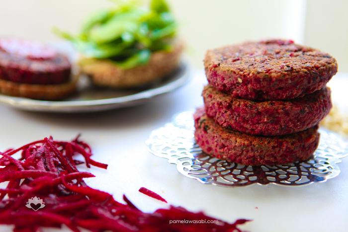 Protein Veggie Burger #vegan #glutenfree #pamelawasabi_02