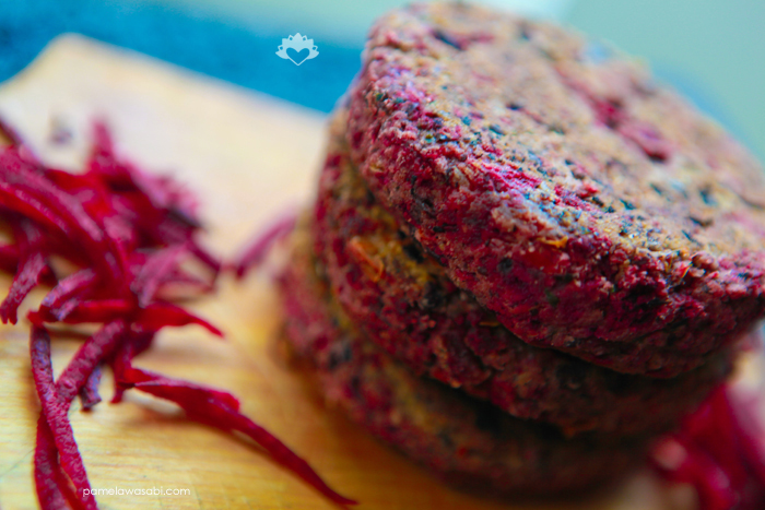 Protein Veggie Burger #vegan #glutenfree #pamelawasabi_06