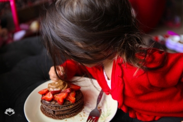 Chocolate Protein Pancakes_PamelaWasabi Vegan02