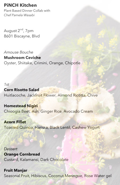 Microsoft Word - Pinch Kitchen Plant Based Collab Dinner Menu.do