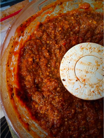 Pamela Wasabi_Vegan Ched_Miami_Bolognese